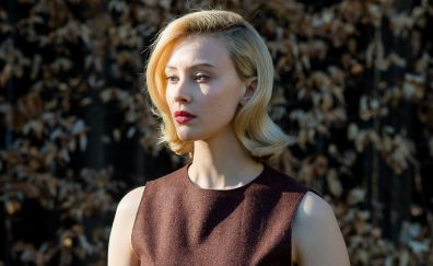 Sarah Gadon, blonde, actress, short hair