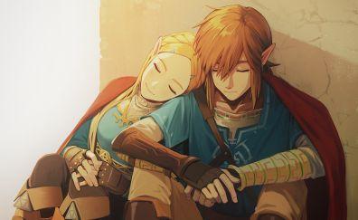 The Legend of Zelda: Breath of the Wild, game, fan art