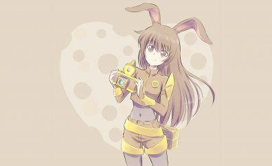Anime girl, Yang Xiao Long, RWBY