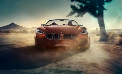 BMW Concept Z4, sports cars, front, 4k