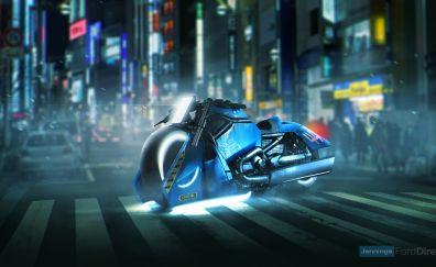 Blade Runner, Spinner bike, Harley Davidson