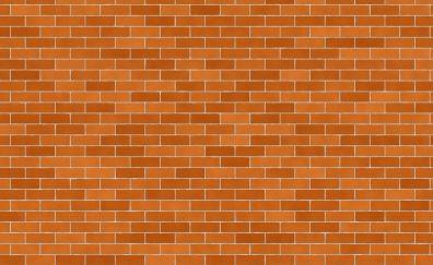 Symmetric, arrangement, pattern, brick wall, 4k