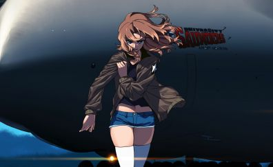 Alisa, Girls und Panzer, blonde anime girl