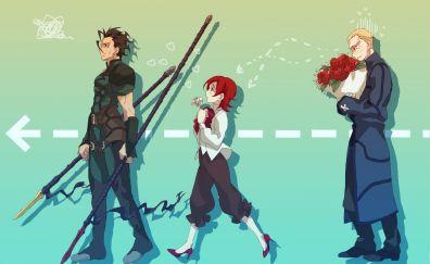 Fate/zero, anime, fate series