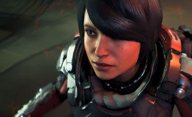 Girl soldier, Sara Ryder, Mass Effect: Andromeda
