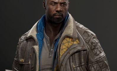 Idris Elba, actor, art