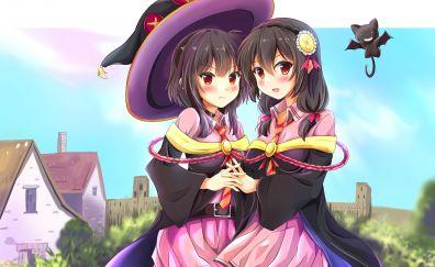 Megumin yunyun konosuba anime girls