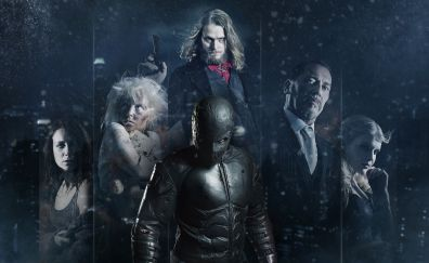 Rendel, superhero, 2017 movie, poster