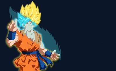 Goku, super goku, dragon ball, anime
