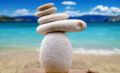 Stones, rocks, blur, balance
