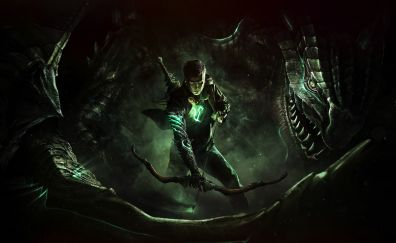 Scalebound, video game, dragon