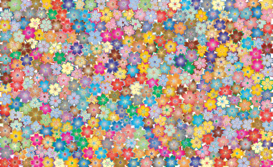 Cherry blossom, floral, abstract
