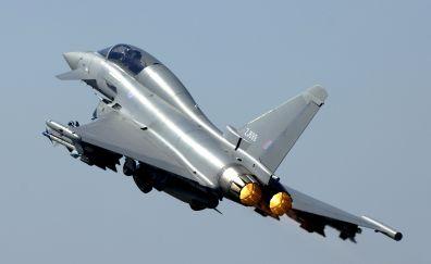 Euro fighter typhoon plane