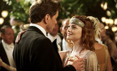 Colin Firth and Emma Stone in Magic in the moonlight movie