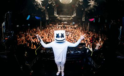 Marshmello DJ, party