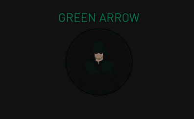 Green arrow minimal artwork
