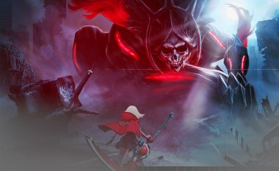 God Eater 2 Rage Burst video game, death, reaper