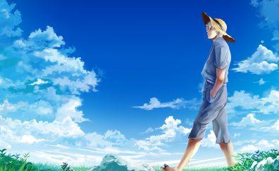 Natsuki Subaru, Re:Zero, anime boy