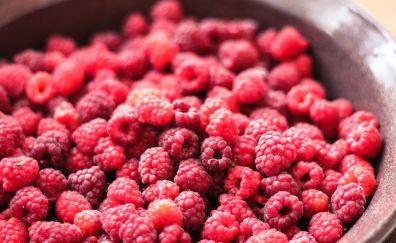 Raspberry berry ripe dish