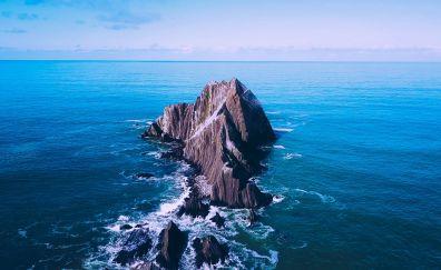 San Pedro Rock, sea, nature, rocks