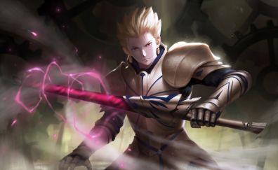 Gilgamesh, Fate/stay night, anime boy