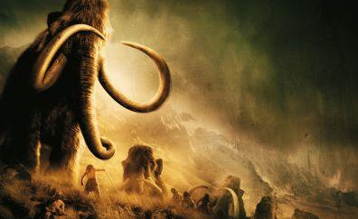 10,000 BC movie, 2008 movie, mammoth