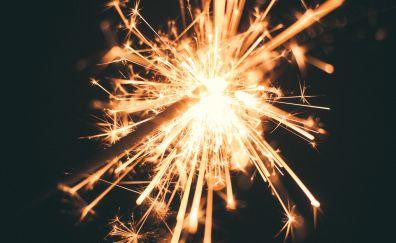 Sparkler, sparks, glitter