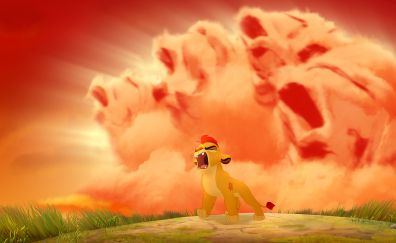 The Lion Guard animated TV series