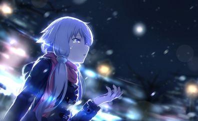 Anime girl, Yuzuki yukari, vocaloid