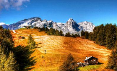 Dolomites mountains, lanscape, nature