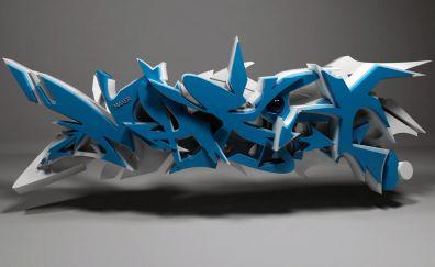 Abstract, 3D design, pattern, art