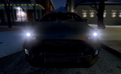 Ford fiesta RS car