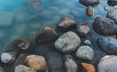 Rocks of river