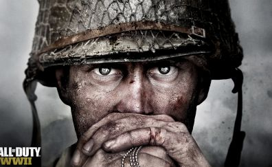 Call of duty, solider, video game, face