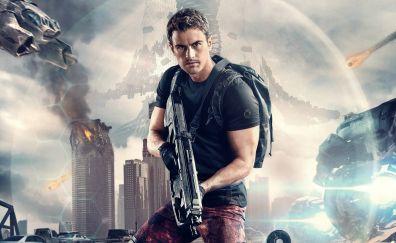 The Divergent Series: Allegiant, 2016 movie, Theo James, actor