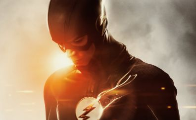 The flash, Grant Gustin