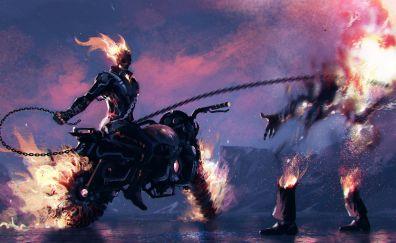 Ghost rider artwork