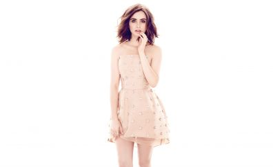 Lily Collins, Blonde Actress