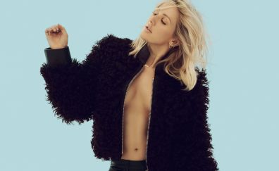 Ellie Goulding, hot photoshoot, celerity, 4k