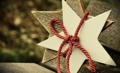 Star rope christmas