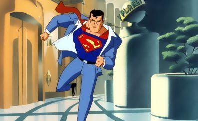Superman: The Animated Series, animation, cartoon