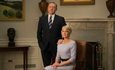 House of cards, TV series, couple