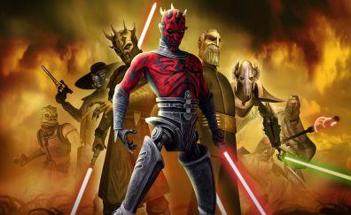 Star Wars: The Clone Wars, cartoon tv series