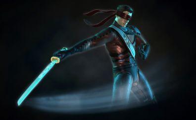 Kenshi Katana of Mortal kombat artwork wallpaper