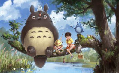 My Neighbor Totoro, anime movie, party, fun, art