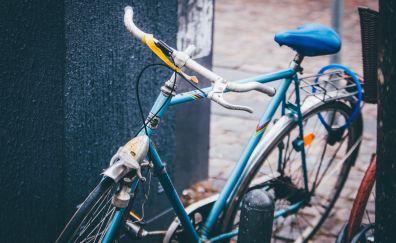Bike transportation parking