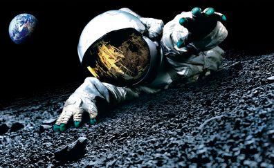 Astronaut, Space, moon, Apollo 18, 2011 movie