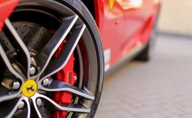 Ferrari car, wheel