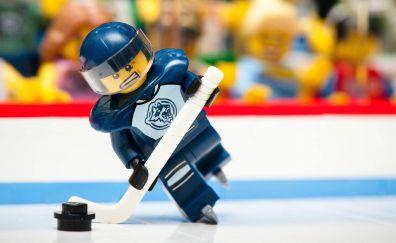Lego toys of hockey player