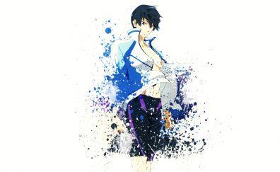 Free!, anime boy, art